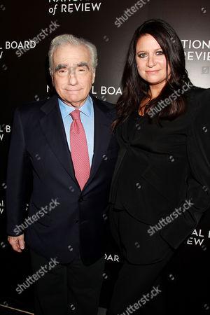 Stock Photo of Martin Scorsese, Emma Koskoff Tillinger