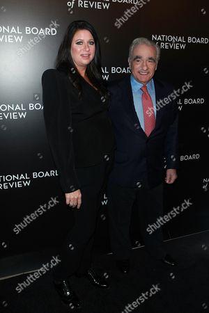Emma Koskoff Tillinger and Martin Scorsese