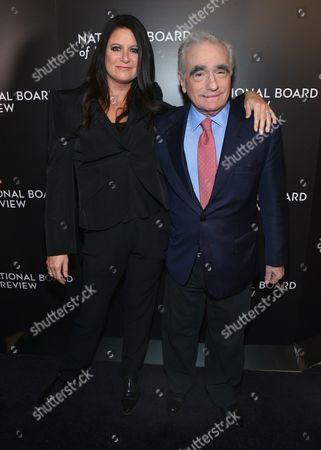 Stock Picture of Emma Koskoff Tillinger, Martin Scorsese