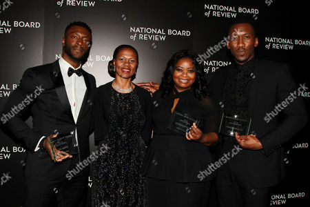 Stock Picture of Aldis Hodge, Yvonne Cagle, Octavia Spencer, Mahershala Ali