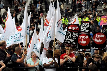 Editorial image of Britain March Against Racism and Fascism - Jun 2008