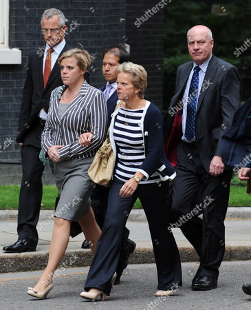 The Family of Murdered Schoolgirl Milly Dowler (l-r) Sister Gemma Dowler Mother Sally Dowler and Father Bob Dowler Arrive at the British Prime Minister's Residence 10 Downing Street to Meet with Prime Minister David Cameron in London Britain 13 July 2011 the Dowler Family Met Prime Minister Cameron to Discuss the Government's Response to Phone Hacking Milly's Parents Are Suing the News of the World Over Claims Their Daughter's Phone was Allegedly Hacked when She Went Missing in 2002 Reports of Milly Dowler's Phone Being Hacked Kicked Off a Public Outrage Which Has Resulted in the Newspaper's Closure and the Announcement by the Prime Minister of a Public Inquiry Into the Scandal United Kingdom London