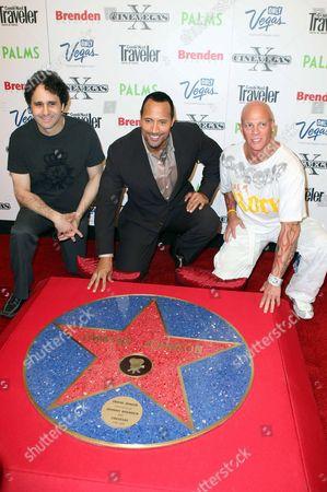 Editorial image of Brenden Celebrity Star presentation at The Palms Hotel Casino, Las Vegas, America - 15 Jun 2008