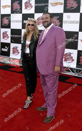 Us Producer Joel Silver (r) and Wife Karyn Fields (l) Arrive For the Film Premiere of 'Speed Racer' in Los Angeles California Usa 26 April 2008 the Film 'Speed Racer' is Based On the Classic Television Series Created by Anime Pioneer Tatsuo Yoshida Which Follows the Adventures of Young Race Car Driver Speed and His Quest For Glory in His Mach 5 Race Car
