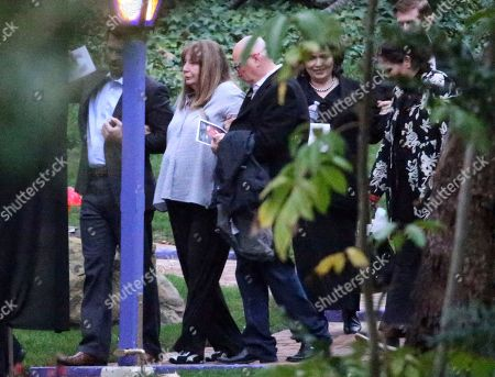 Stock Picture of Penny Marshall second from left, leaves a memorial service at the homes of Debbie Reynolds and her daughter Carrie Fisher in Los Angeles . Reynolds died Dec. 28 at the age of 84, a day after her daughter died at the age of 60