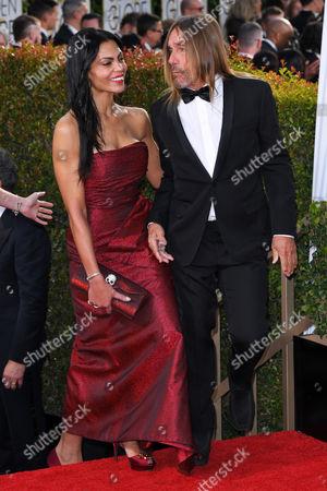 Iggy Pop and wife Nina Alu