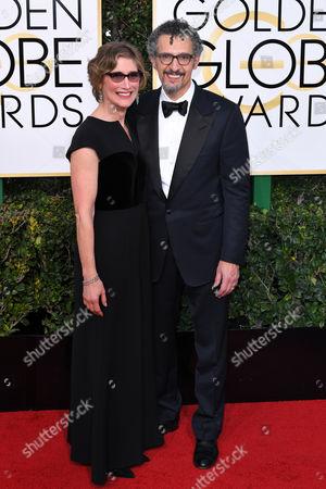 John Turturro and Katherine Borowitz