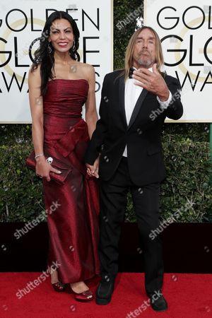 Iggy Pop and Nina Alu