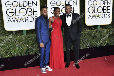 Stock Image of Nathan Anderson, Kyra Anderson and Anthony Anderson