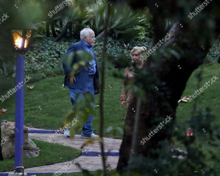 Richard Dreyfuss and Svetlana Erokhin