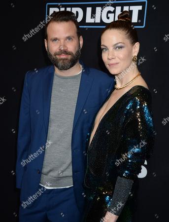 Baran Odar and Michelle Monaghan