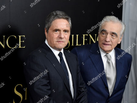Brad Grey and Martin Scorsese