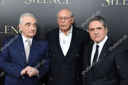 Stock Image of Brad Grey, Irwin Winkler and Martin Scorsese
