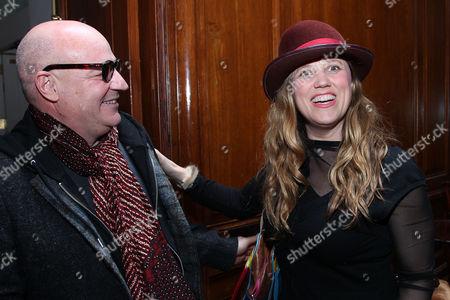 Gianfranco Rosi and Heidi Ewing