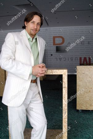 Editorial photo of Joey McKneely at the Badminton Theatre, Athens, Greece - 2008