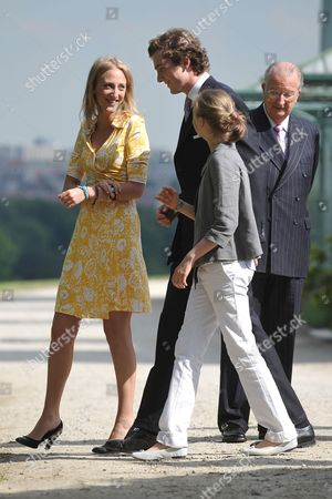 Princess Maria Laura, Prince Amedeo, Princess Luisa Maria, children of Princess Astrid and King Albert