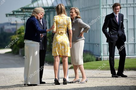Princess Astrid, Princess Maria Laura, Queen Paola, Prince Amedeo