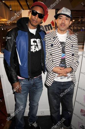 Pharrell Williams and Nigo