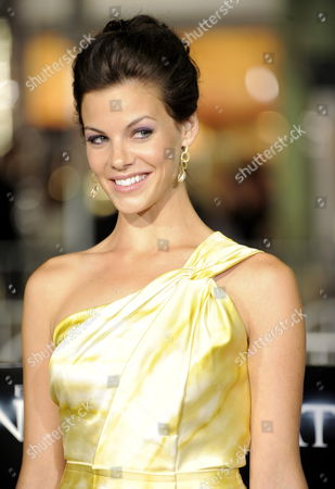 Stock Picture of Us Actress and Cast Member Haley Webb Arrives For the World Premiere of 'The Final Destination' in Los Angeles California Usa 27 August 2009 Webb Plays the Role of 'Janet' in This Film About a Group of Friends who Escape Death Only to Die One-by-one United States Los Angeles