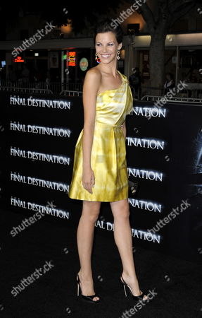 Us Actress and Cast Member Haley Webb Arrives For the World Premiere of 'The Final Destination' in Los Angeles California Usa 27 August 2009 Webb Plays the Role of 'Janet' in This Film About a Group of Friends who Escape Death Only to Die One-by-one United States Los Angeles