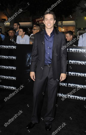 Us Actor and Cast Member Bobby Campo Arrives For the World Premiere of 'The Final Destination' in Los Angeles California Usa 27 August 2009 Campo Plays the Role of 'Nock O'bannon' in This Film About a Group of Friends who Escape Death Only to Die One-by-one United States Los Angeles