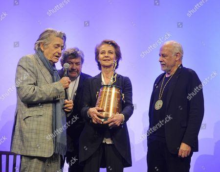 Stock Picture of Francis Perrin, Jean Pierre Mocky, Charlotte Rampling, Alain Casabona,