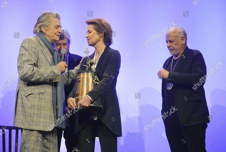 Stock Photo of Charlotte Rampling, Jean Pierre Mocky, Francis Perrin