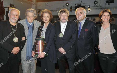 Francis Perrin, Jean Pierre Mocky, Charlotte Rampling, Alain Casabona, Jacques Mailhot, Irene Jacob