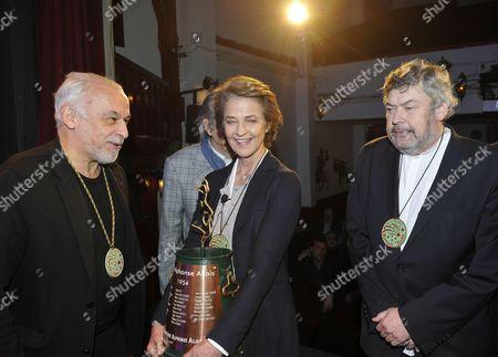 Editorial photo of 'Alphonse Allais Award', Paris, France - 05 Jan 2017