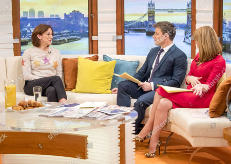 Abigail Thaw with Ben Shephard and Kate Garraway