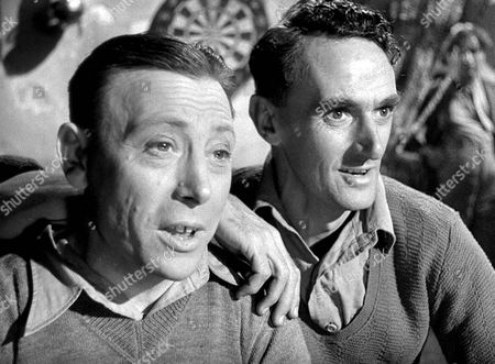'The Way Ahead'   Film John Laurie (right) with Leslie Dwyer