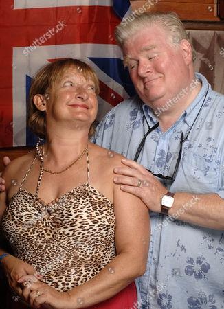 'Benidorm' TV - 2008 - Jacqueline [Janine Duvitski] and Donald [Kenny Ireland]