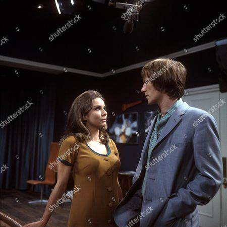 'Love Story' A Man Alone Aka the Bodyguard - TV - 1968 - Dennis Waterman as James and Philippa Gail as Charlotte.