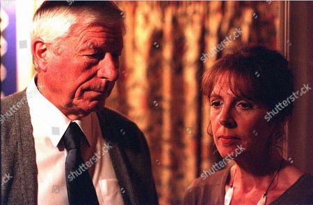 'Bob & Rose' TV - 2001 -  William (John Woodvine) and Monica Gossage (Penelope Wilton).