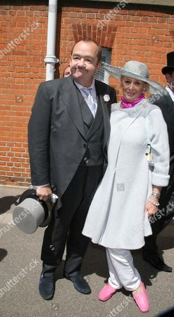 Mel Smith and wife Pat
