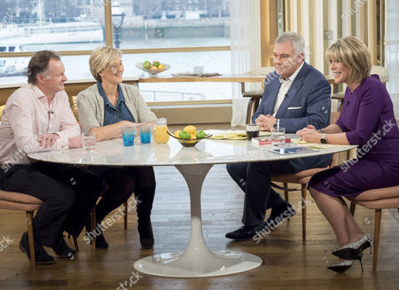 Harry Benson and Kate Benson with Eamonn Holmes and Ruth Langsford