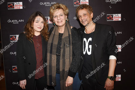 Stock Photo of Emilie Dequenne, Sophie Dulac (Productrice et distributrice), Abel Jafri