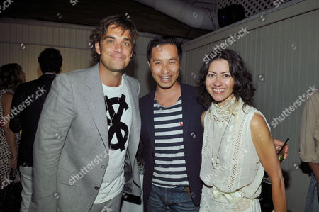 Robbie Williams, Phillip Lim and Magda Berliner
