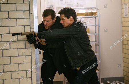 Left to right: Patrick Heusinger and Tom Cruise