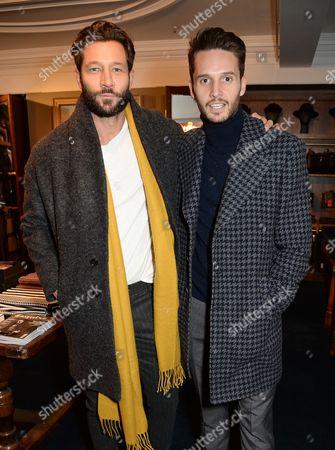 Stock Photo of John Halls and Dejan Obradovic