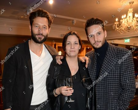 Editorial photo of Launch of London Fashion Week Men's with Esquire and Fortnum & Mason, London, UK - 06 Jan 2017