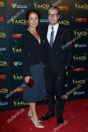 Simon Baker and Rebecca Rigg