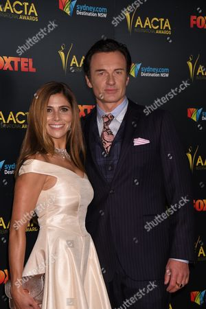 Julian McMahon and Kelly Paniagua