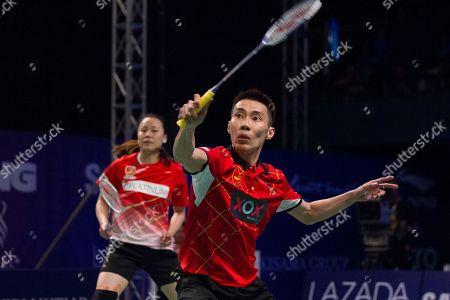 Editorial image of Purple League, Kuala Lumpur, Malaysia - 07 Jan 2017