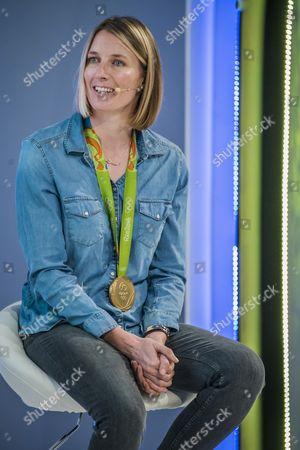 Stock Picture of Saskia Clark, Rio Olympic Gold Medalist, 470 Class