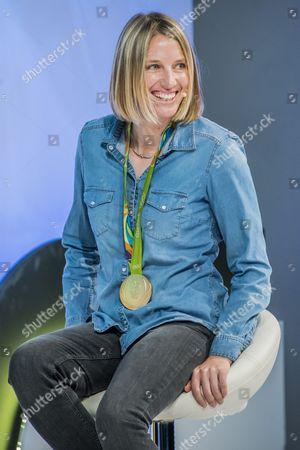 Saskia Clark, Rio Olympic Gold Medalist, 470 Class