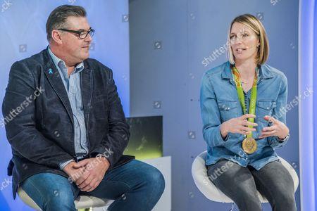 Mark Covell, Olympic silver medalist, Star Class and Saskia Clark, Rio Olympic Gold Medalist, 470 Class