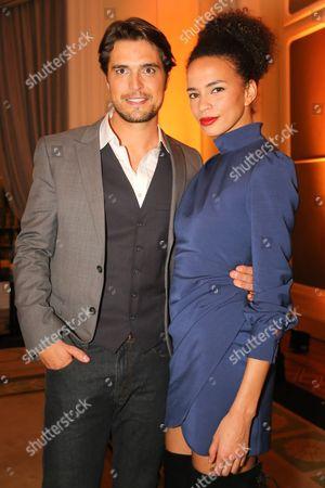 Diogo Morgado and Ana Sofia Martins