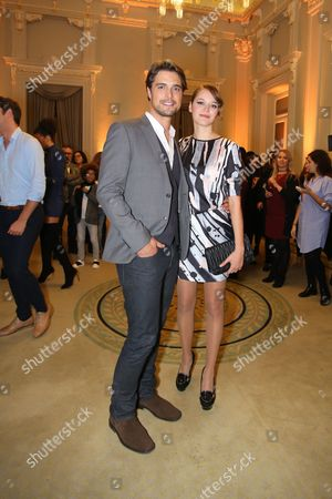 Diogo Morgado and Joana Verona
