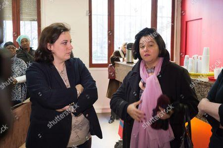 Emmanuelle Cosse and Florence Gerard